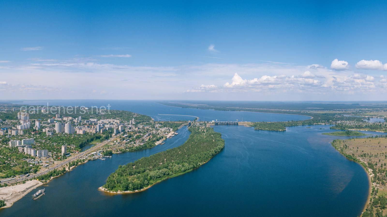 Вышгород и киевское море