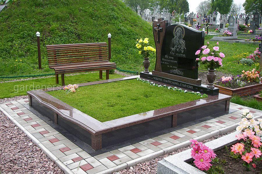 Почвопокровные растения для надгробий