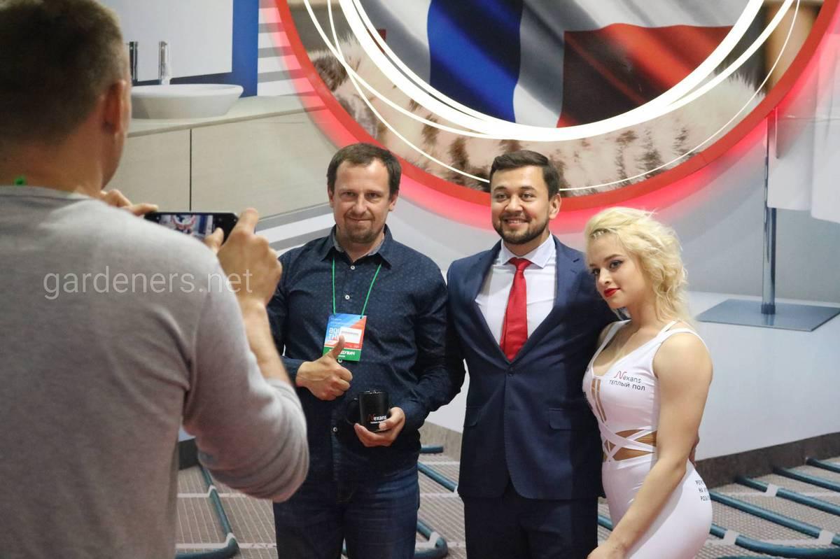 Открытие выставки Акватерм Киев