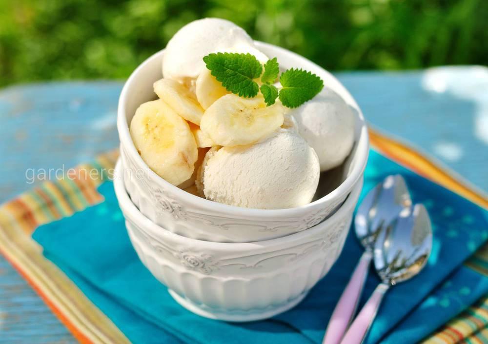 Домашнее банановое мороженое