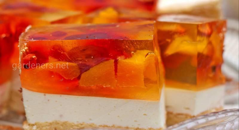 Топ-5 лучших желейных тортов