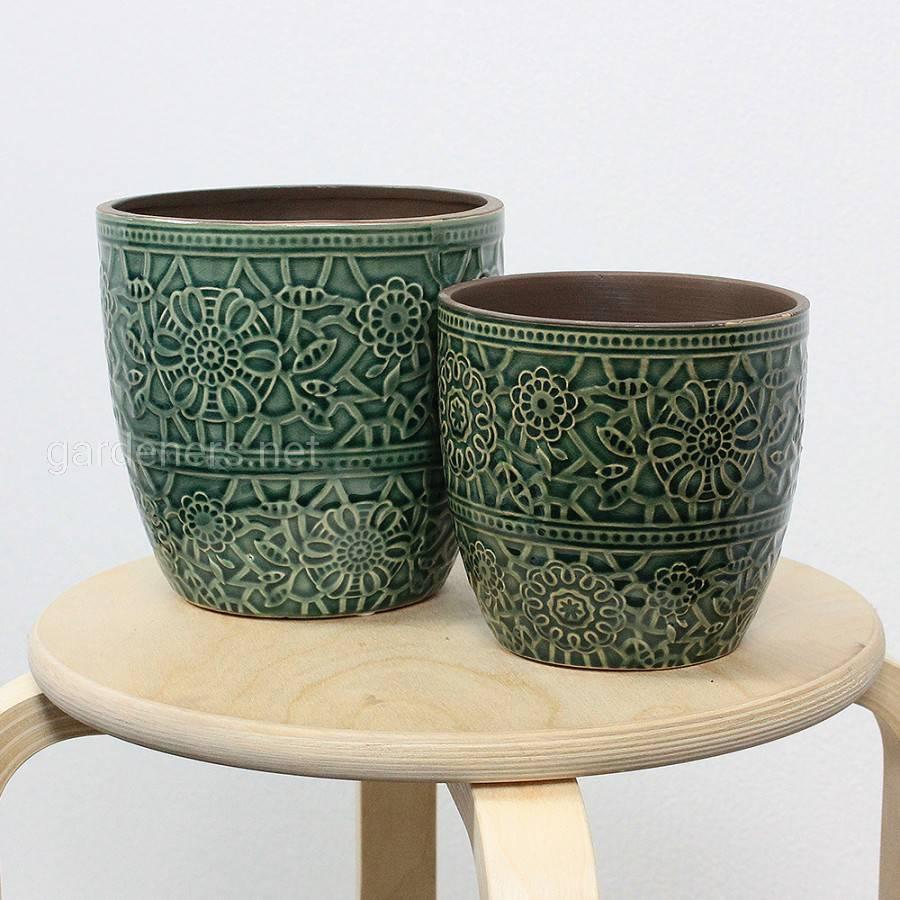 Керамические кашпо