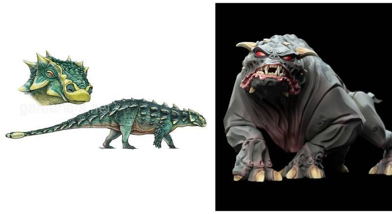 Динозавр с булавой на хвосте назван в честь Зуула – демонического полубога из фильма «Охотники за привидениями»