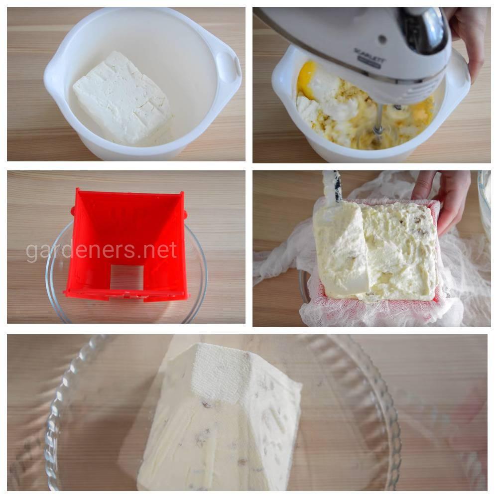 Рецепт пасхального кулича «Диетическая творожная пасха»