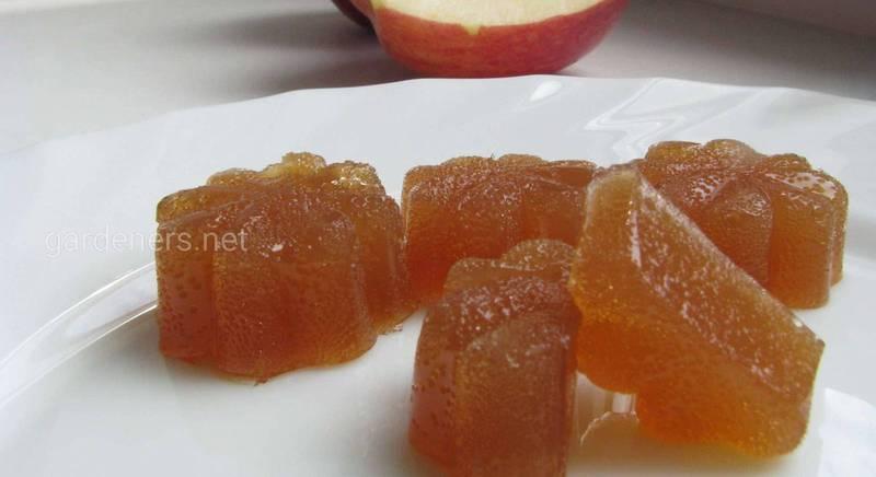 Яблочный мармелад своими руками