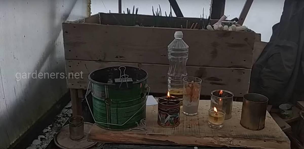 Отопление с помощью свечи длительного горения