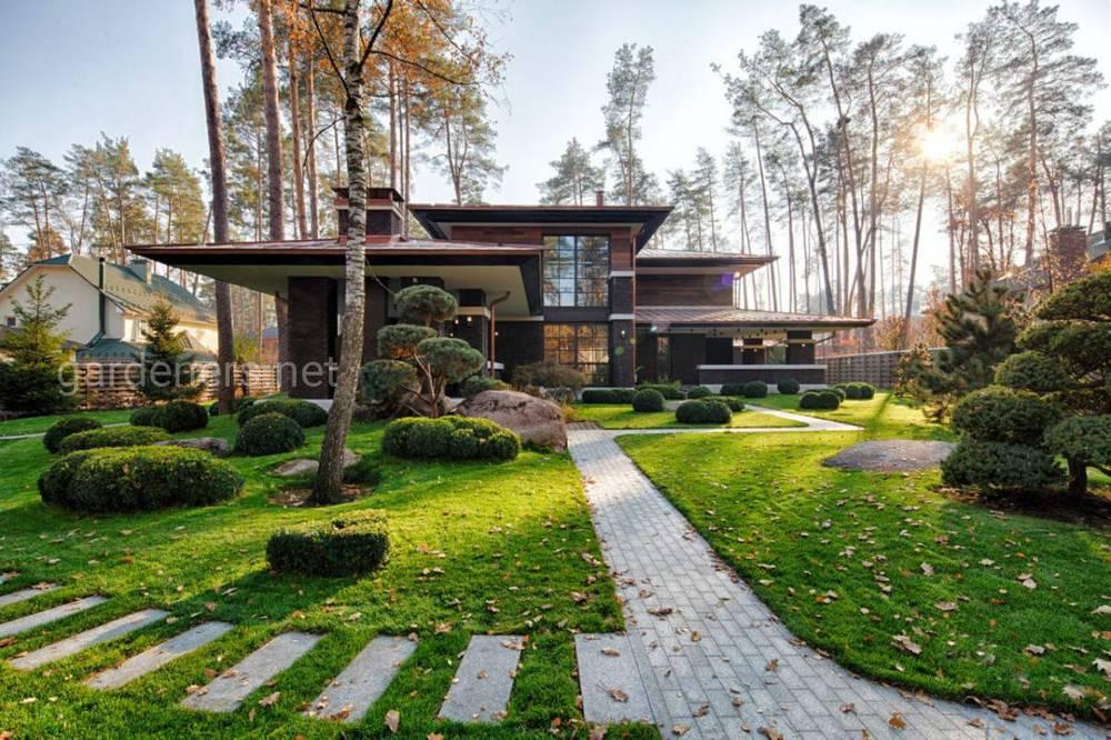 Скандинавський стиль саду