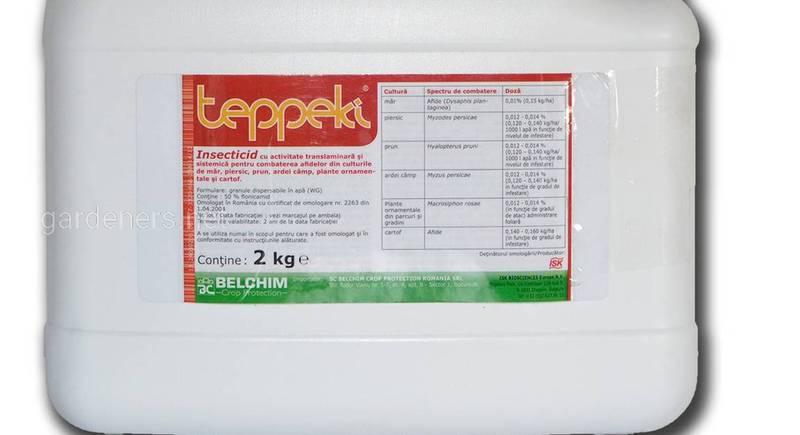 Теппеки (Teppeki) – эффективный инсектицид против тли, белокрылки, щитовки и трипсов