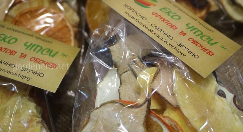 «Эко Чипсы» – полезная альтернатива снека из натуральных овощей и фруктов