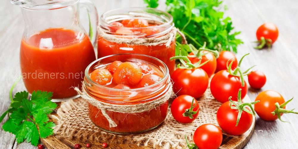 Приготовления маринованных помидоров