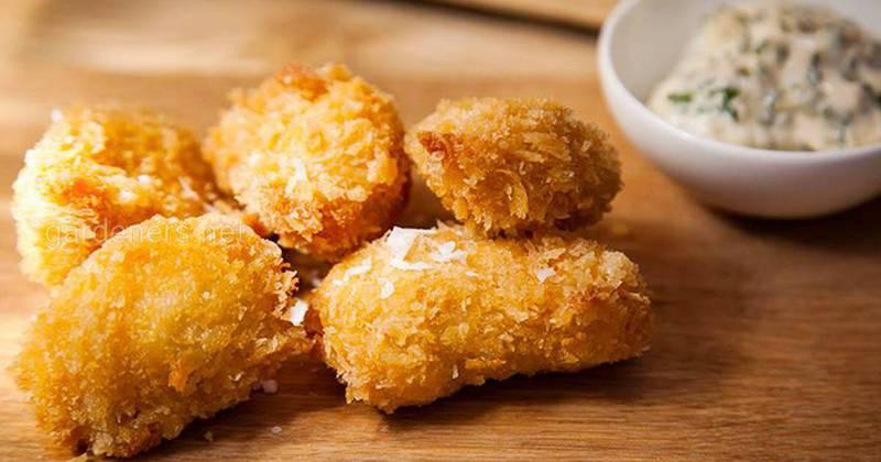 Рецепт куриных наггетсов с соусом!