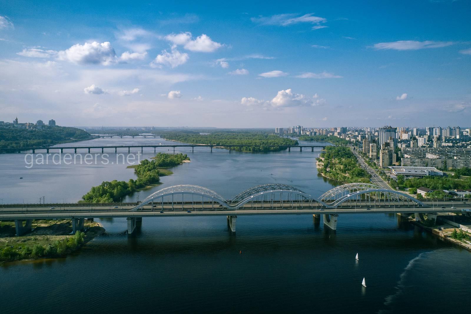 Дарницкий мост, Киев