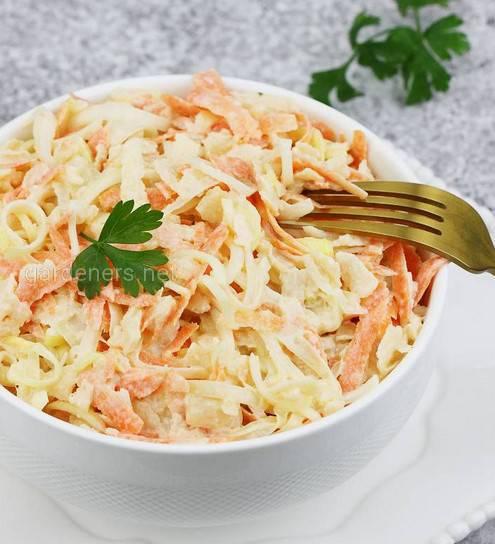 Новогодний витаминный салат
