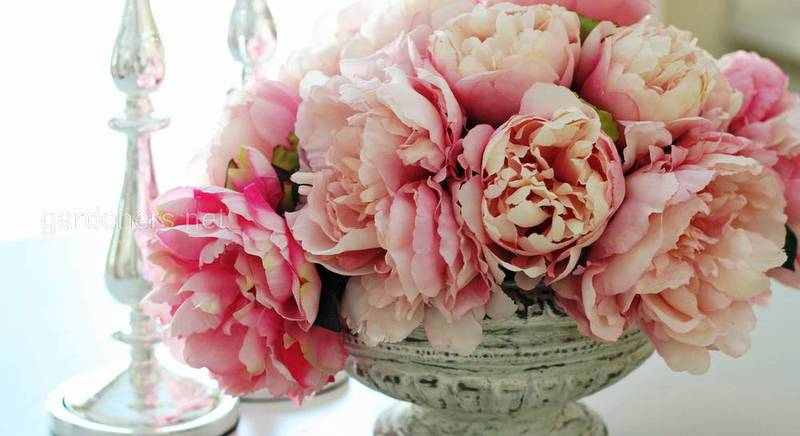 Пионы во флористике: создаем букеты и флористические поделки
