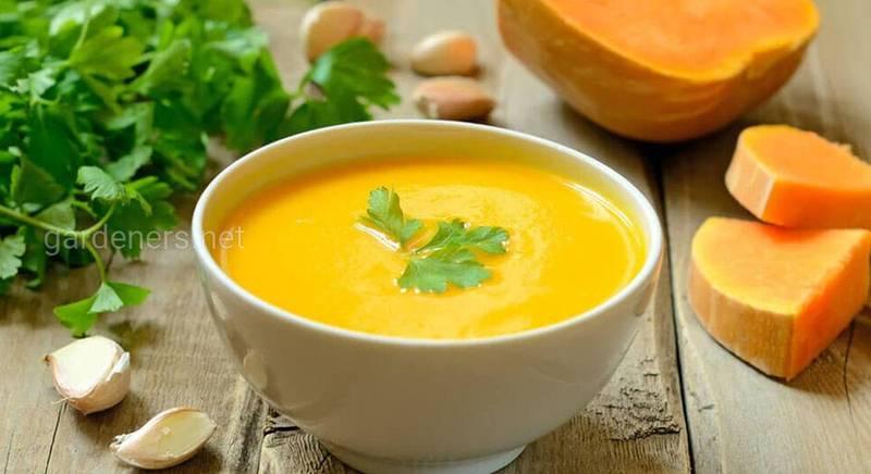 Крем-суп из тыквы. Рецепт