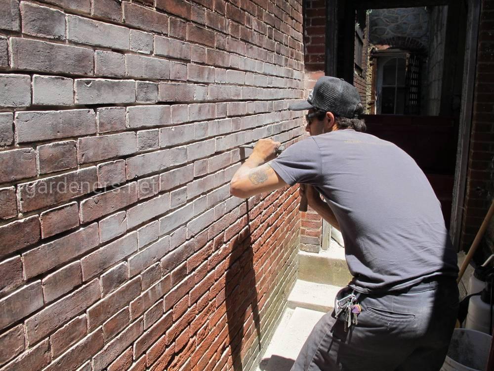 Как восстановить старую кирпичную стену