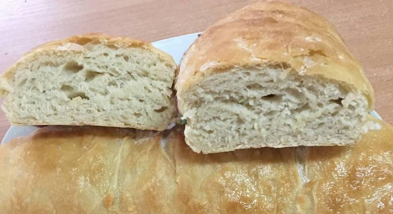 Чиабатта – очень вкусный, ароматный итальянский хлеб
