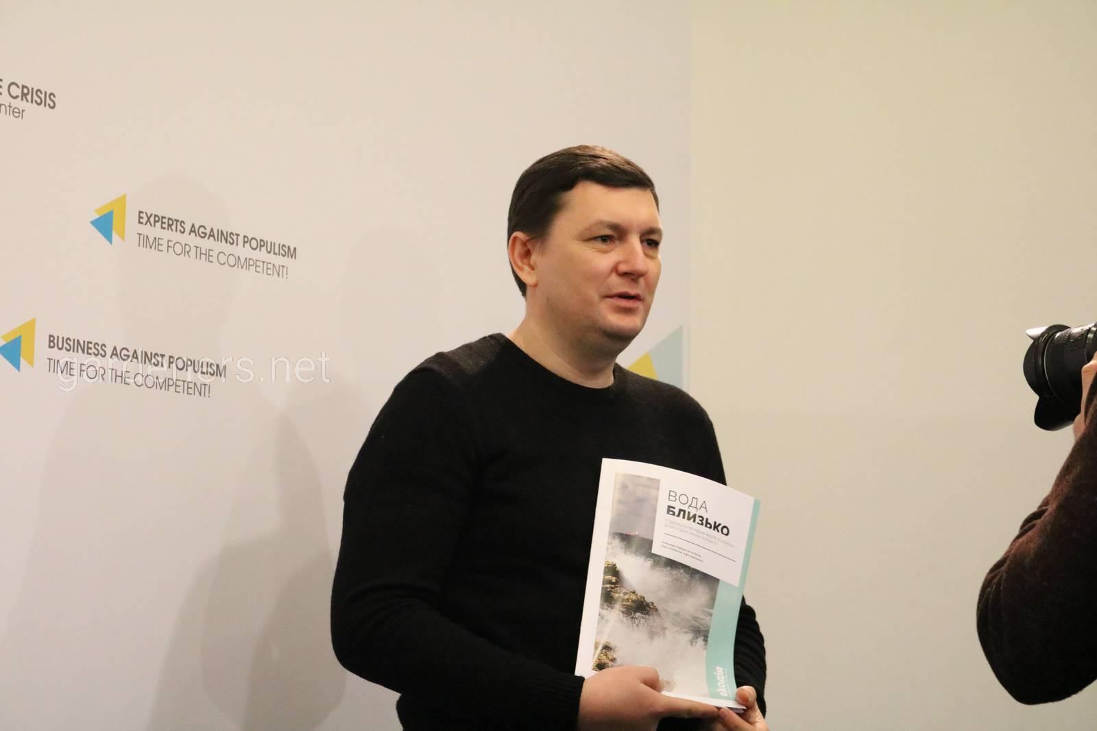 Олександр Голубцов, один з авторів дослідження, кандидат географічних наук,..JPG