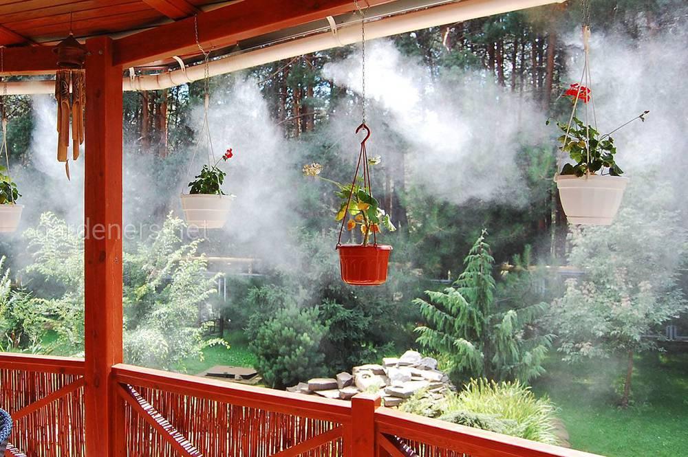 Знакомство с туманообразующей установкой