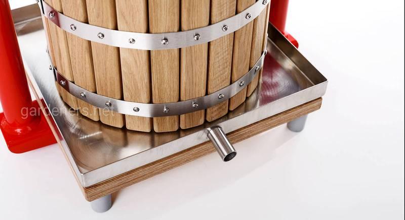 Создаем пресс для производства яблочного сока