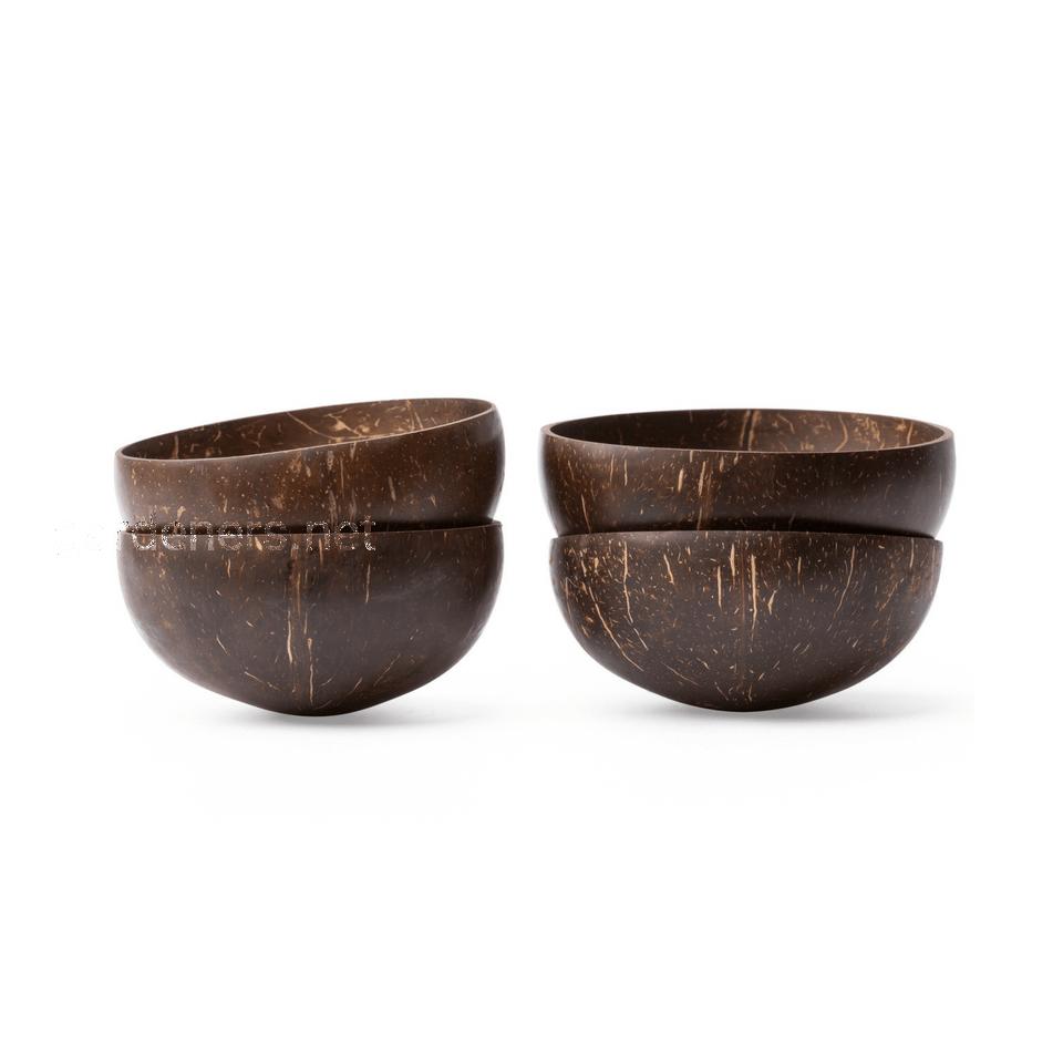 Тарелки из скорлупы кокосового ореха