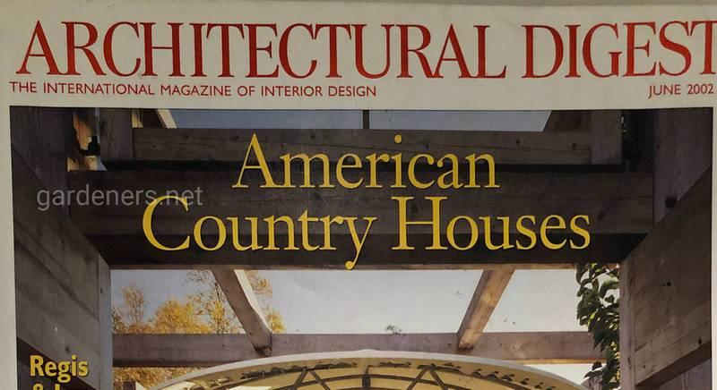 Журнал American Country Houses за июнь 2002
