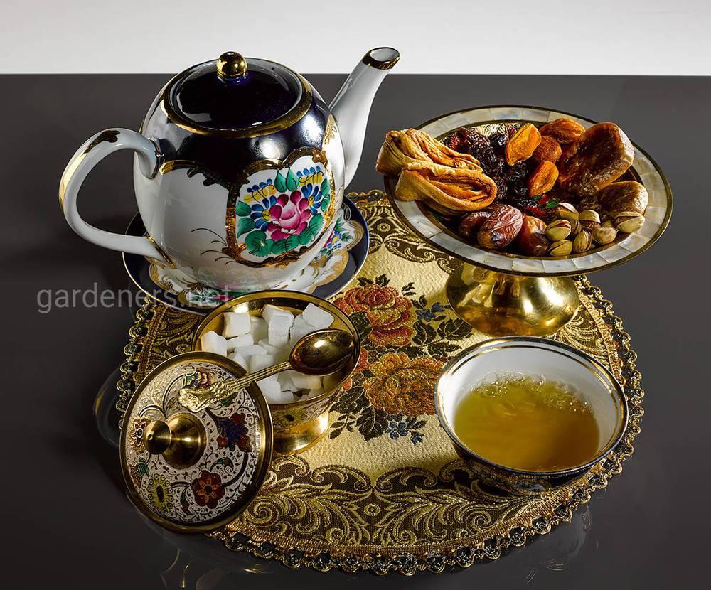 Традиції чаювання в Узбекистані