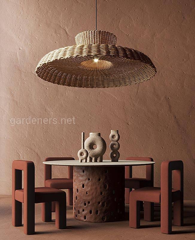 Глиняная штукатурка в современном интерьере