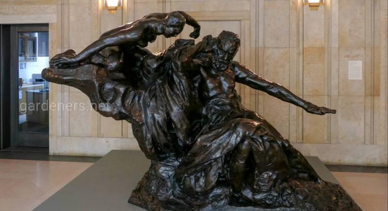 Монумент Виктору Гюго (1802-1885). Работа А.Родена