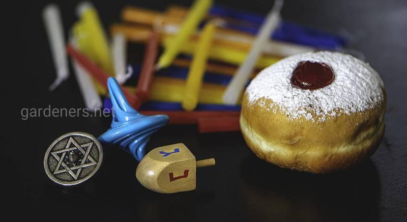 Рецепт пончиків суфганійот