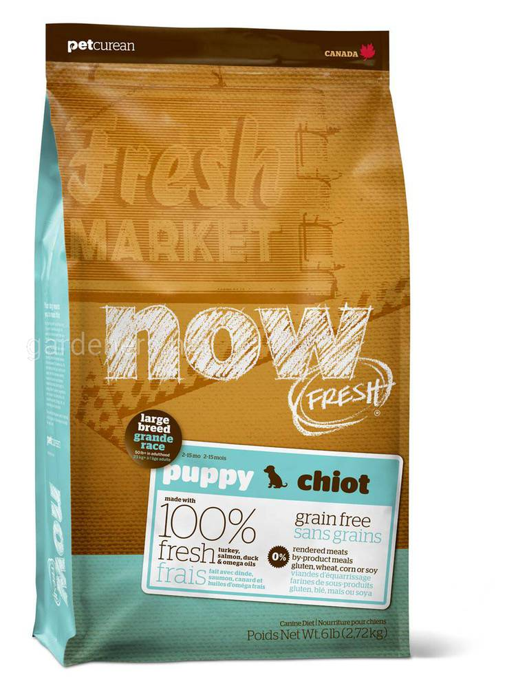 Natural Holistic Fresh Puppy Large Breed Recipe Grain Free