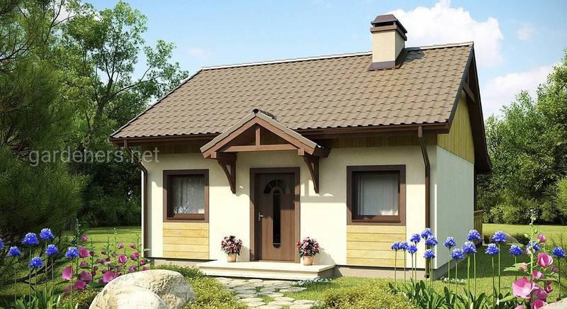 Погреб и садовый домик: красиво и практично!