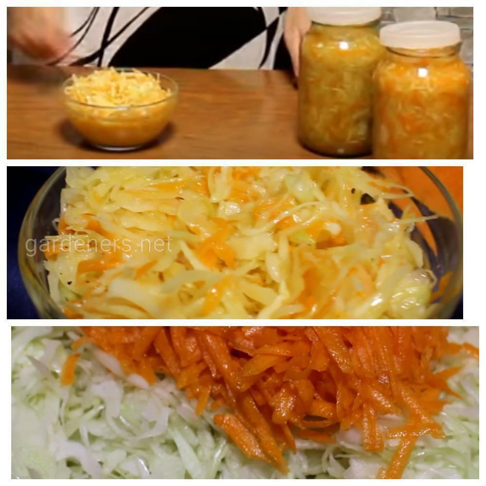 Рецепт квашеной капусты с добавлением тыквы и пряностей