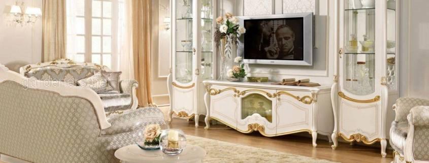 Гостиная современное барокко