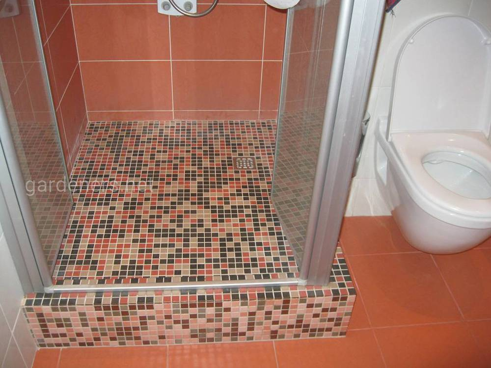 Установка душової кабінки