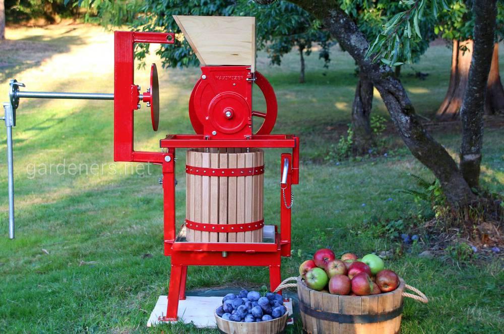 Гидравлический пресс для яблок