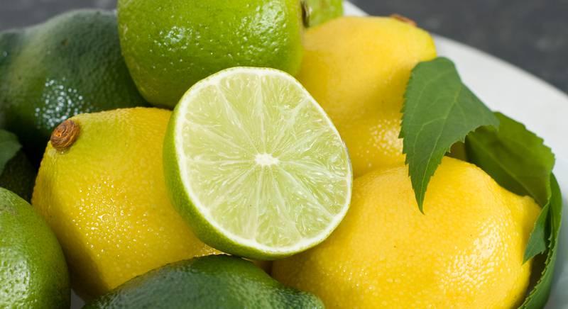 Лимон и лайм. Отличия и сходство
