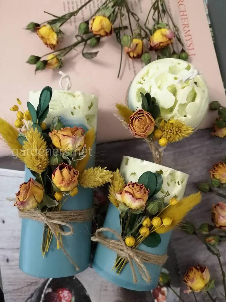 уникальные свечи ручной работы