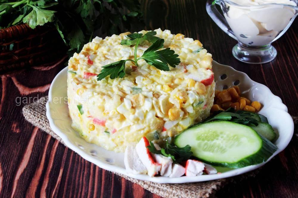 Крабові палички + рис