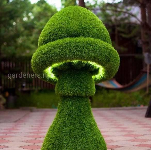 Геометрические мотивы в озеленении