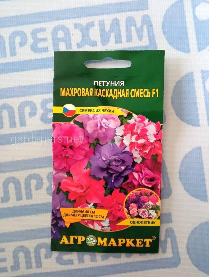семена петунии махровой
