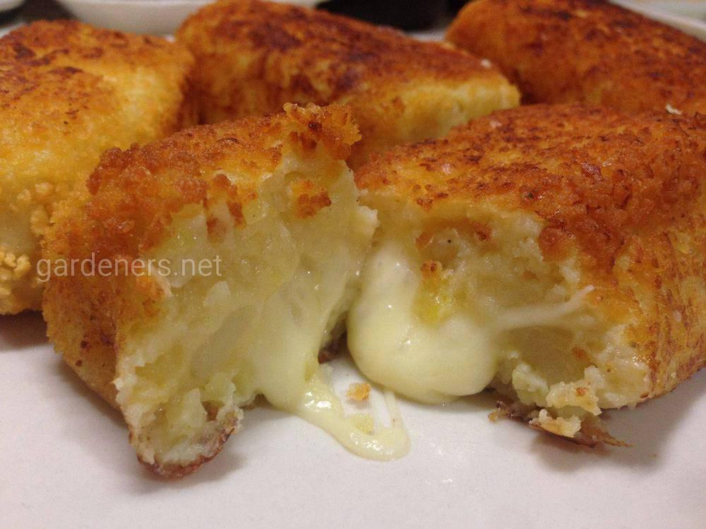 Картофельные наггетсы с сыром