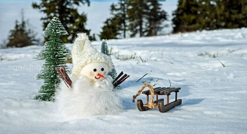 Кращі ідеї для красивих сніговиків