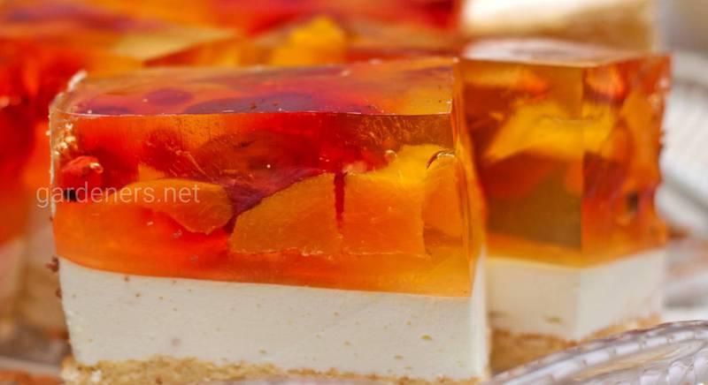 10 смачних десертів у вигляді желе: прості рецепти