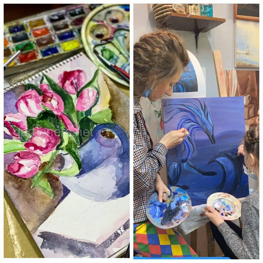 Ученики Арт-Студии Рисунка и Живописи