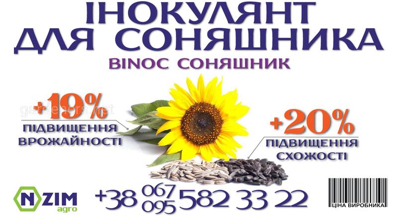 Інокулянт для соняшника ENZIM Agro - Огляд та особливості препарату