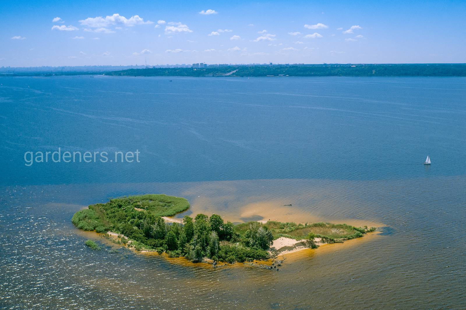 Остров Сварище, Киевское море