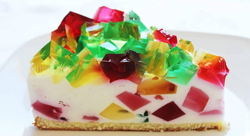Топ-5 найкращих желейних тортів