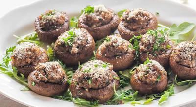 Рецепт фаршированних грибів