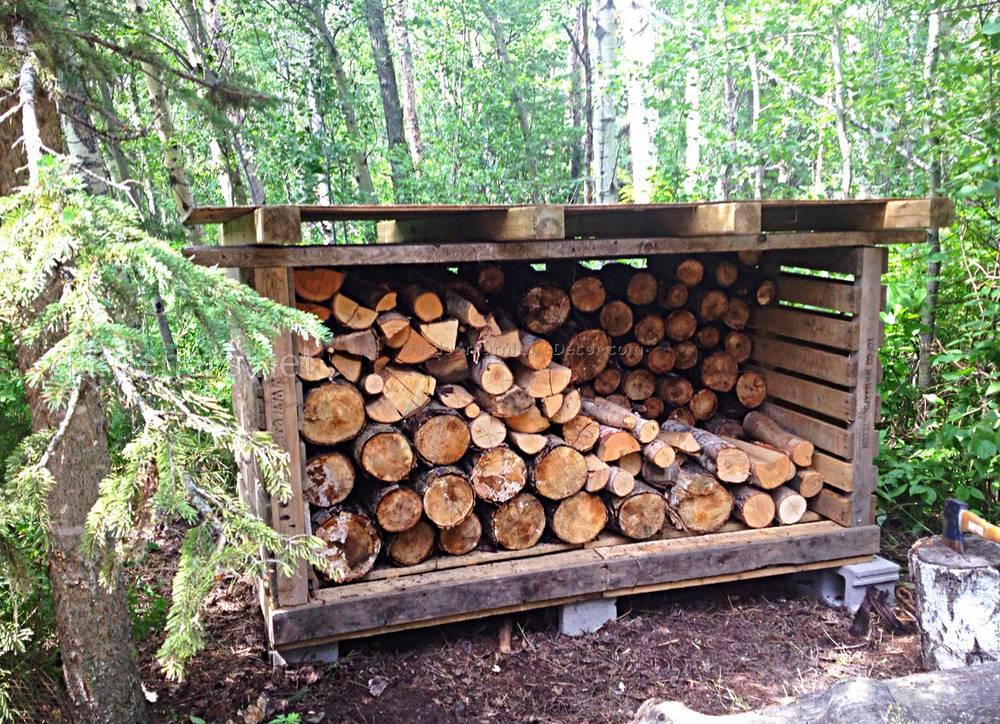 храним дрова